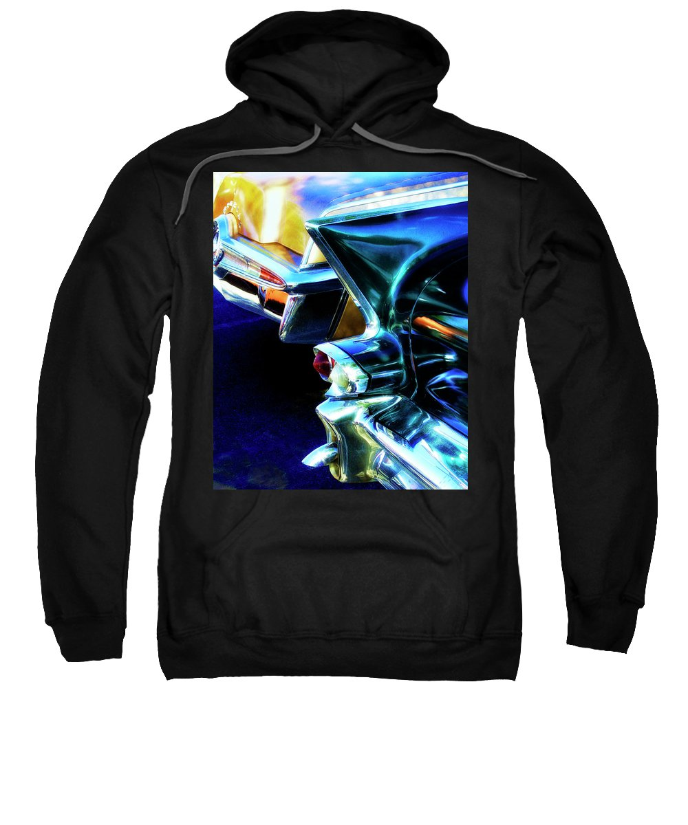 Car Sweatshirt featuring the photograph Nostalgia Palm Springs by William Dey