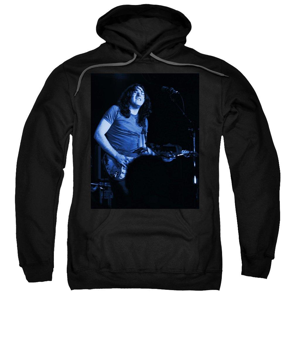 Rock Musicians Sweatshirt featuring the photograph Not Awake Yet Blues by Ben Upham