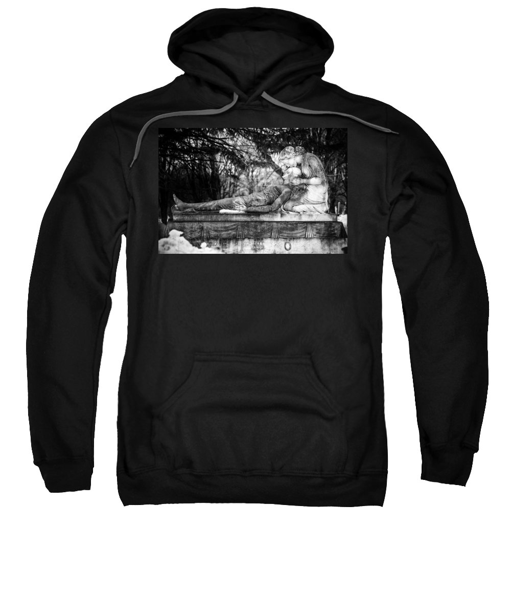 Cemetery Sweatshirt featuring the photograph Notre-dame-des-neiges Cemetery by David Hare