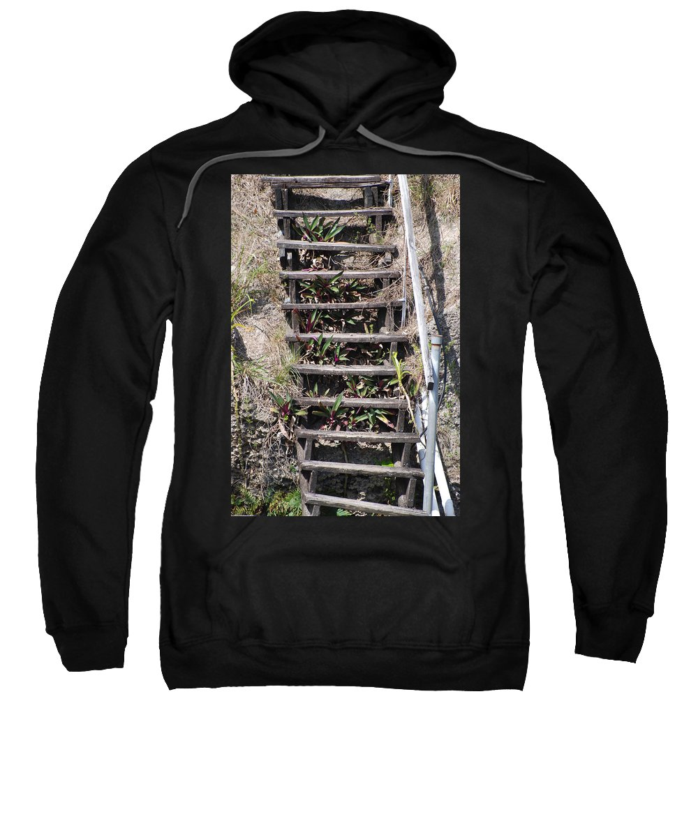 Stairs Sweatshirt featuring the photograph Nowhere Stairs by Rob Hans