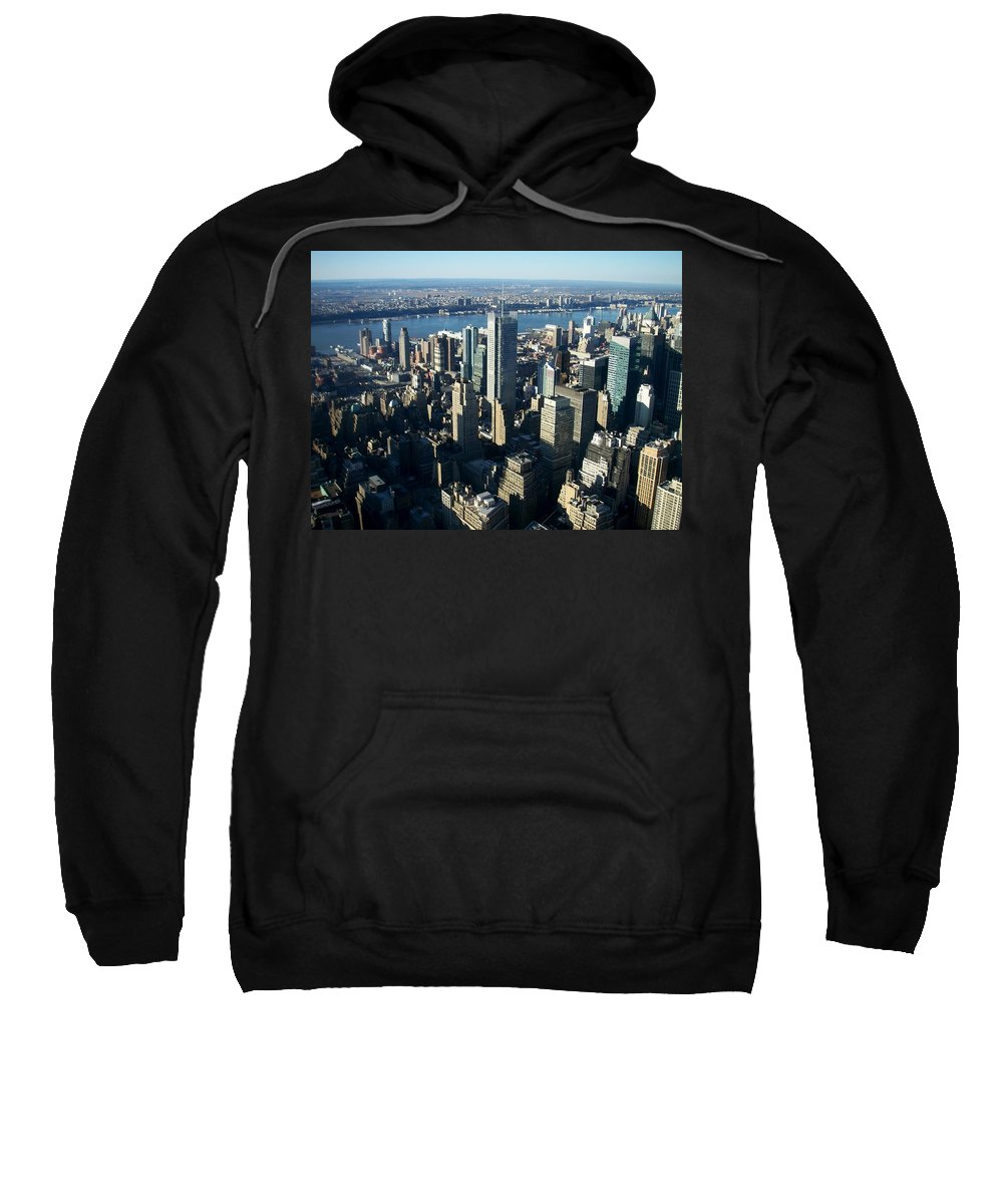 Nyc Sweatshirt featuring the photograph Nyc 1 by Anita Burgermeister