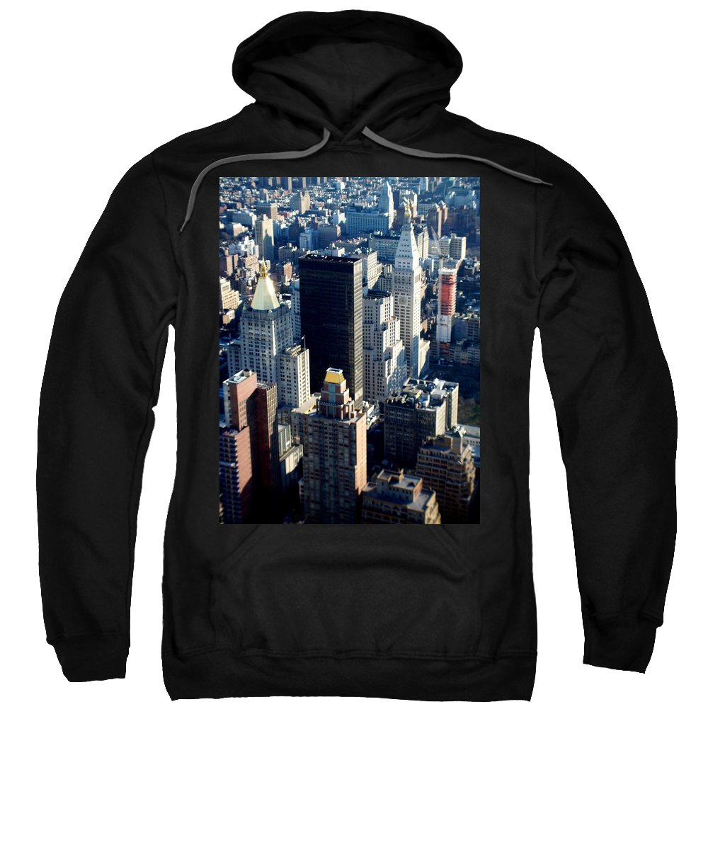 Nyc Sweatshirt featuring the photograph Nyc 2 by Anita Burgermeister