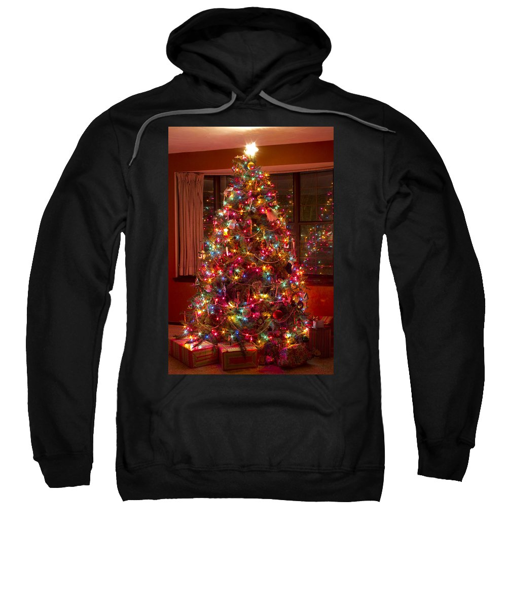 Christmas Tree Sweatshirt featuring the photograph O Christmast Tree by James BO Insogna