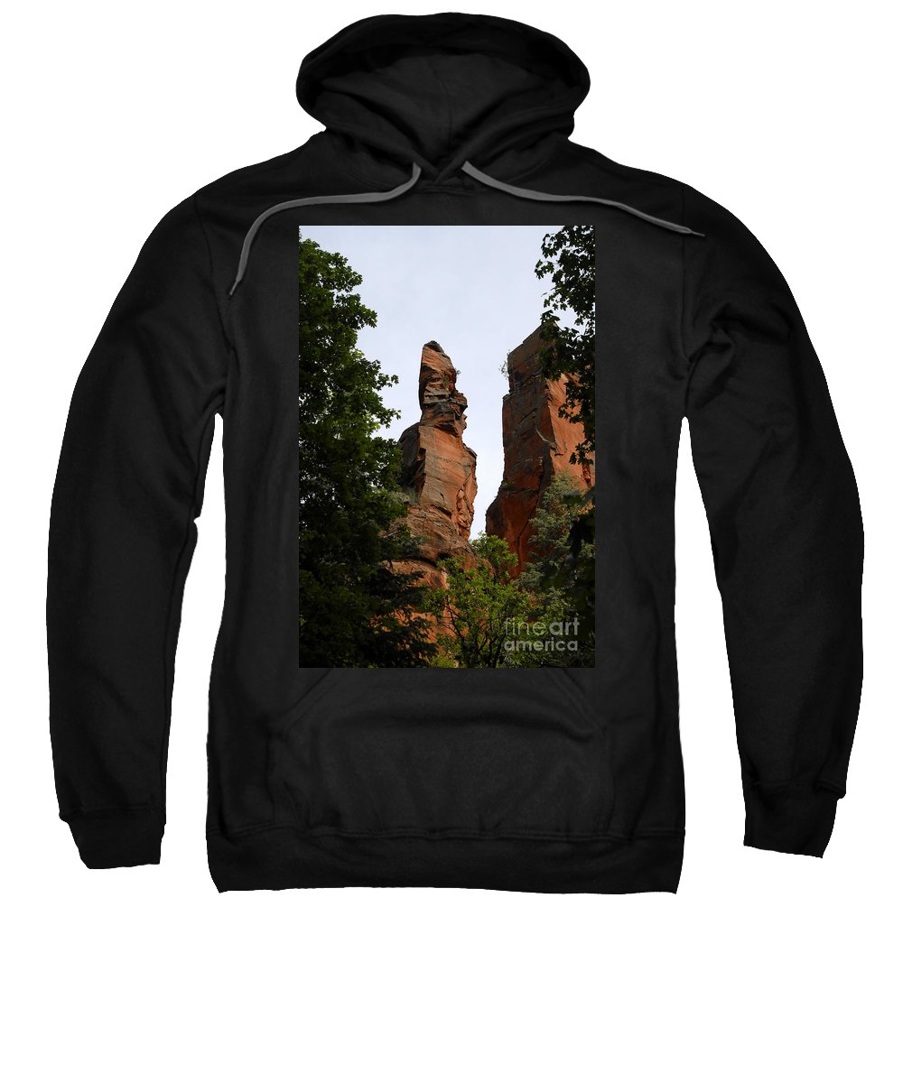 Oak Creek Canyon Arizona Sweatshirt featuring the photograph Oak Creek Canyon by David Lee Thompson