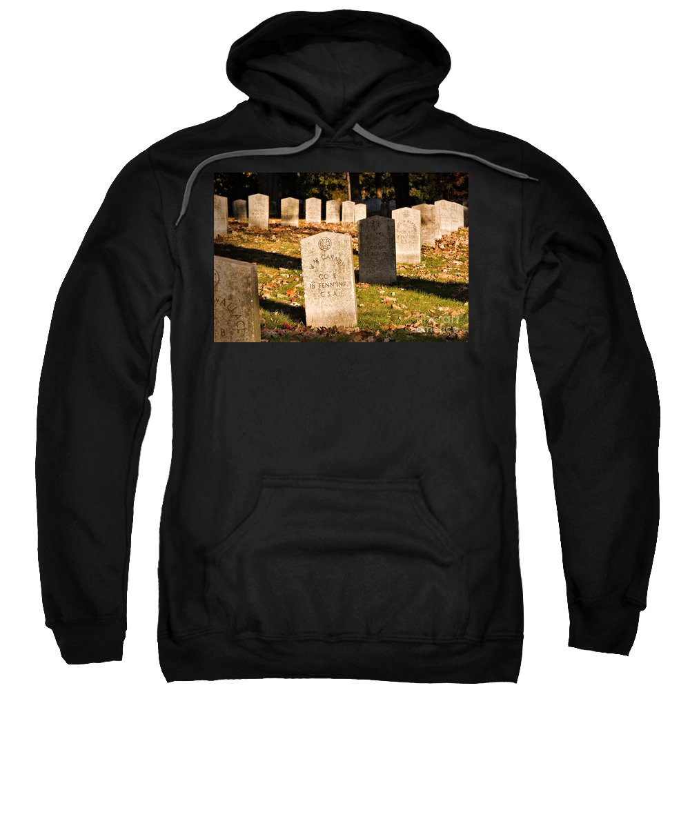 Travel Sweatshirt featuring the photograph Oakland Cemetery Atlanta by Louise Heusinkveld