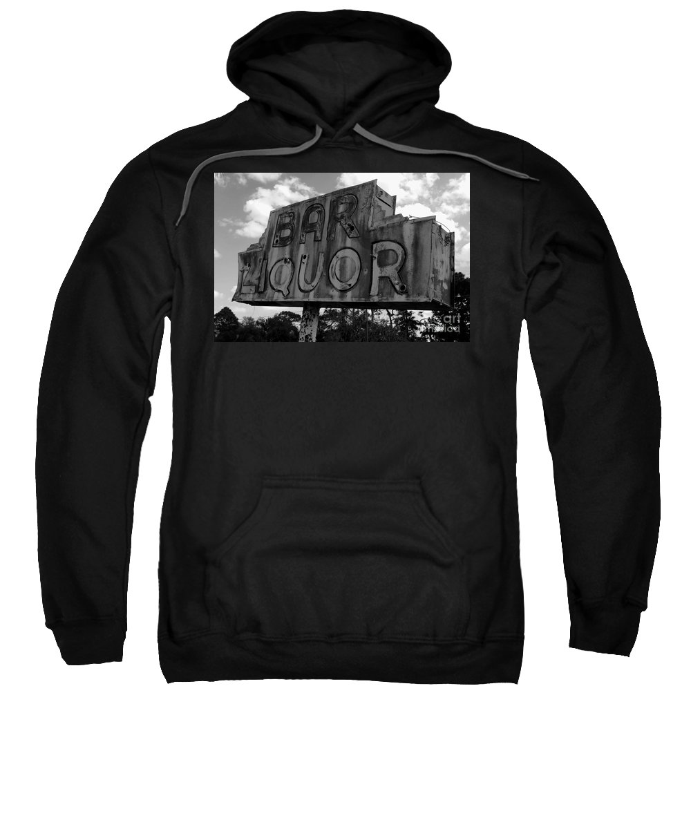 Bar Sweatshirt featuring the photograph Oasis by David Lee Thompson