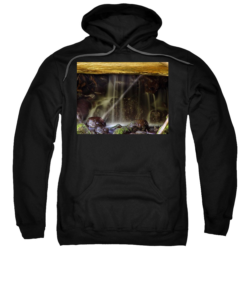 Water Trickle Sweatshirt featuring the photograph Of Light And Mist by Peter Piatt