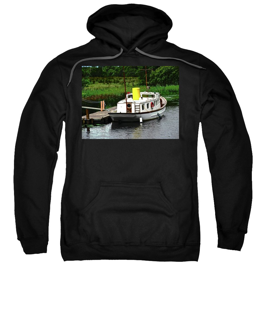 Boat Sweatshirt featuring the photograph Old Boat by Stephanie Moore