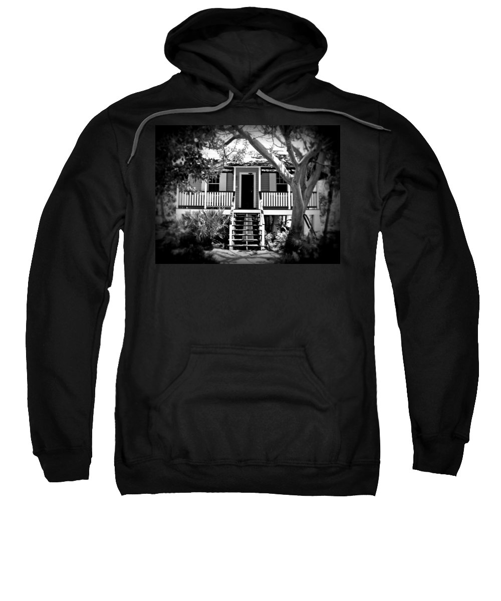 House Sweatshirt featuring the photograph Old Florida Cottage by Perry Webster