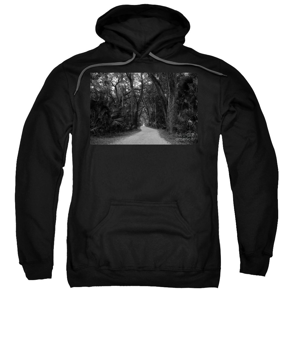 Landscape Sweatshirt featuring the photograph Old Florida by David Lee Thompson