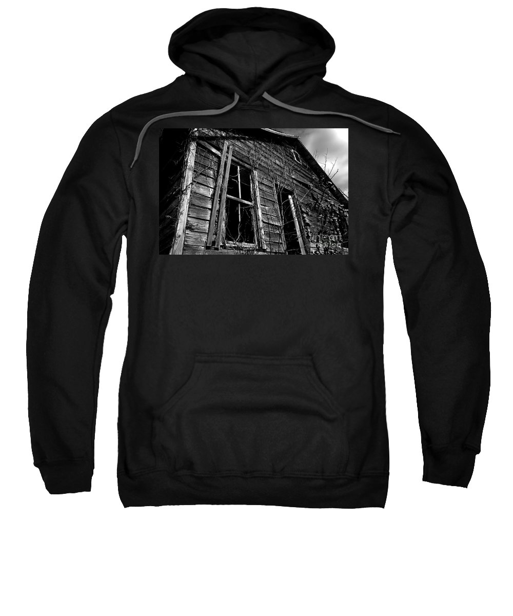 old House Sweatshirt featuring the photograph Old House by Amanda Barcon