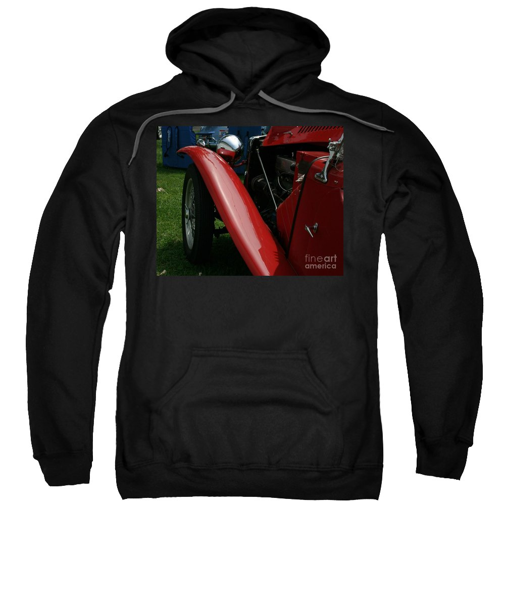 Mg Sweatshirt featuring the photograph Old Mg by Dawn Downour