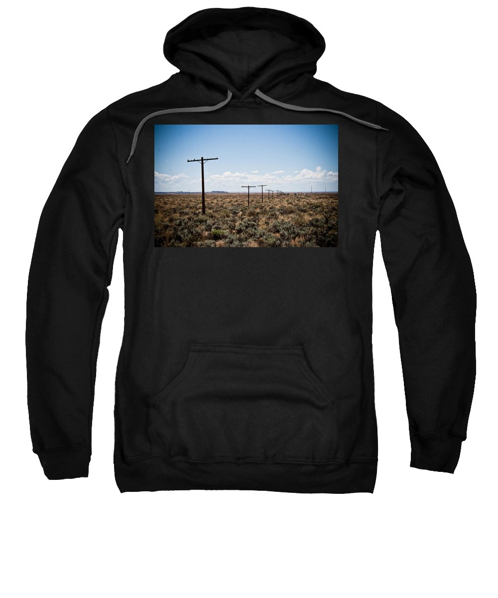 Route 66 Sweatshirt featuring the photograph Old Route 66 #4 by Robert J Caputo