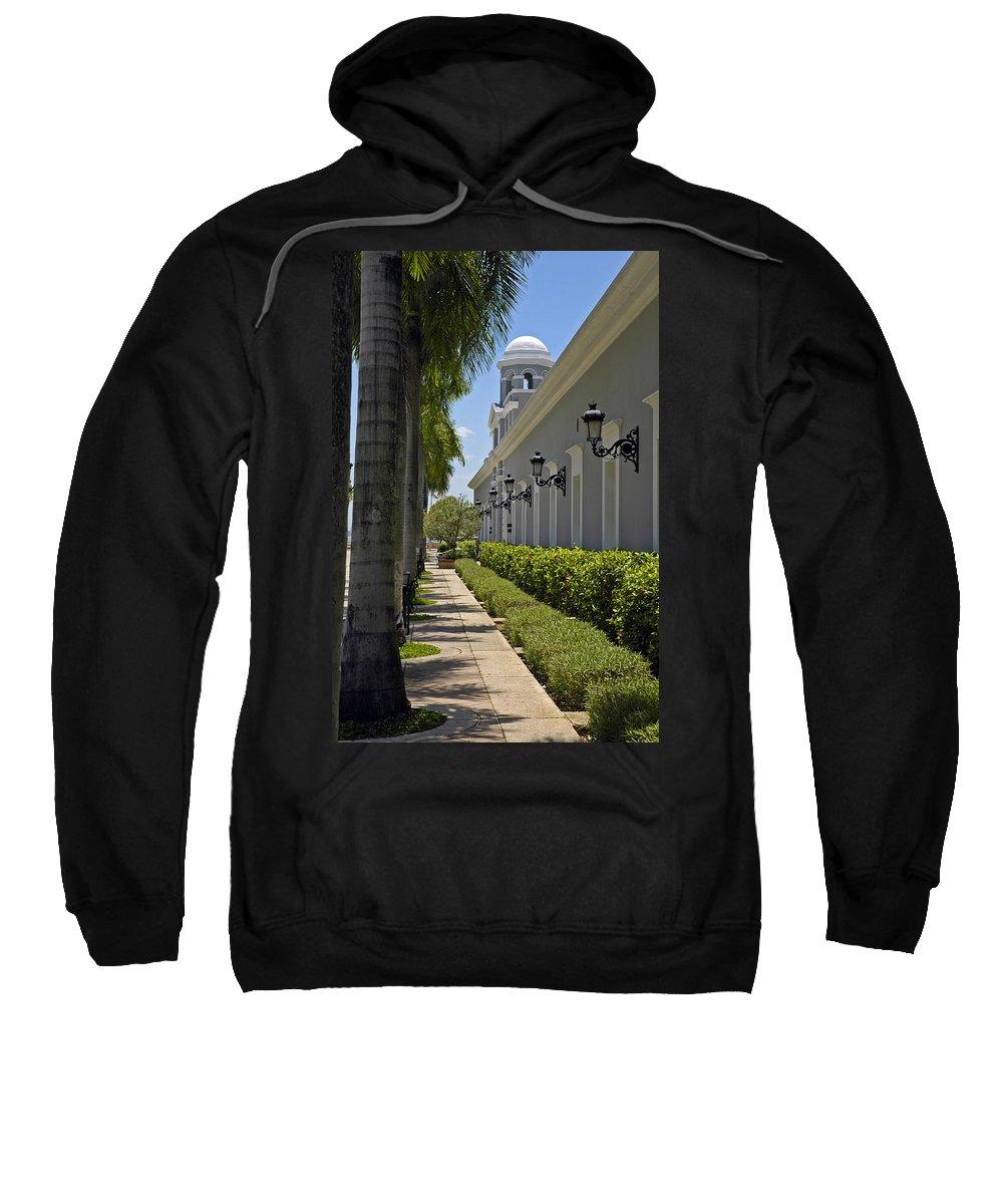 Travel Sweatshirt featuring the photograph Old San Juan Puerto Rico by Tito Santiago