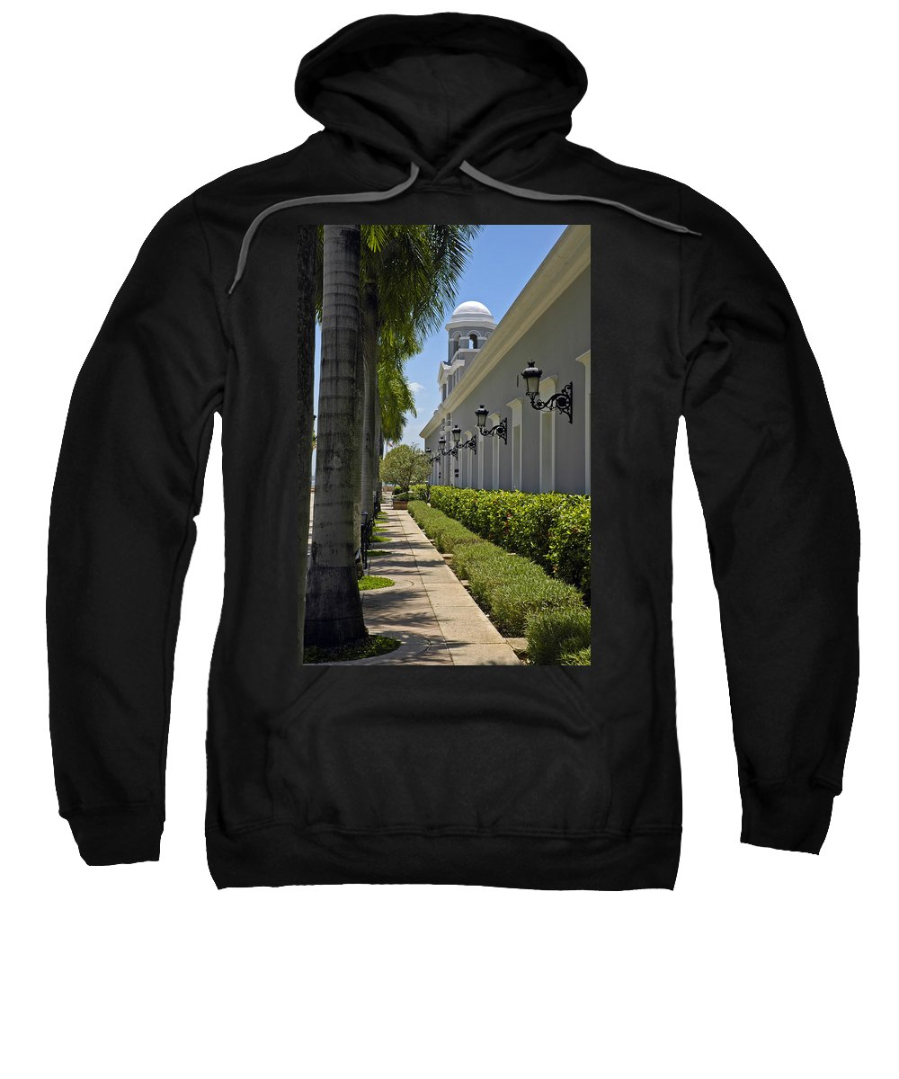 Travel Sweatshirt featuring the photograph Old San Juan Puerto Rico by Tito Santiago
