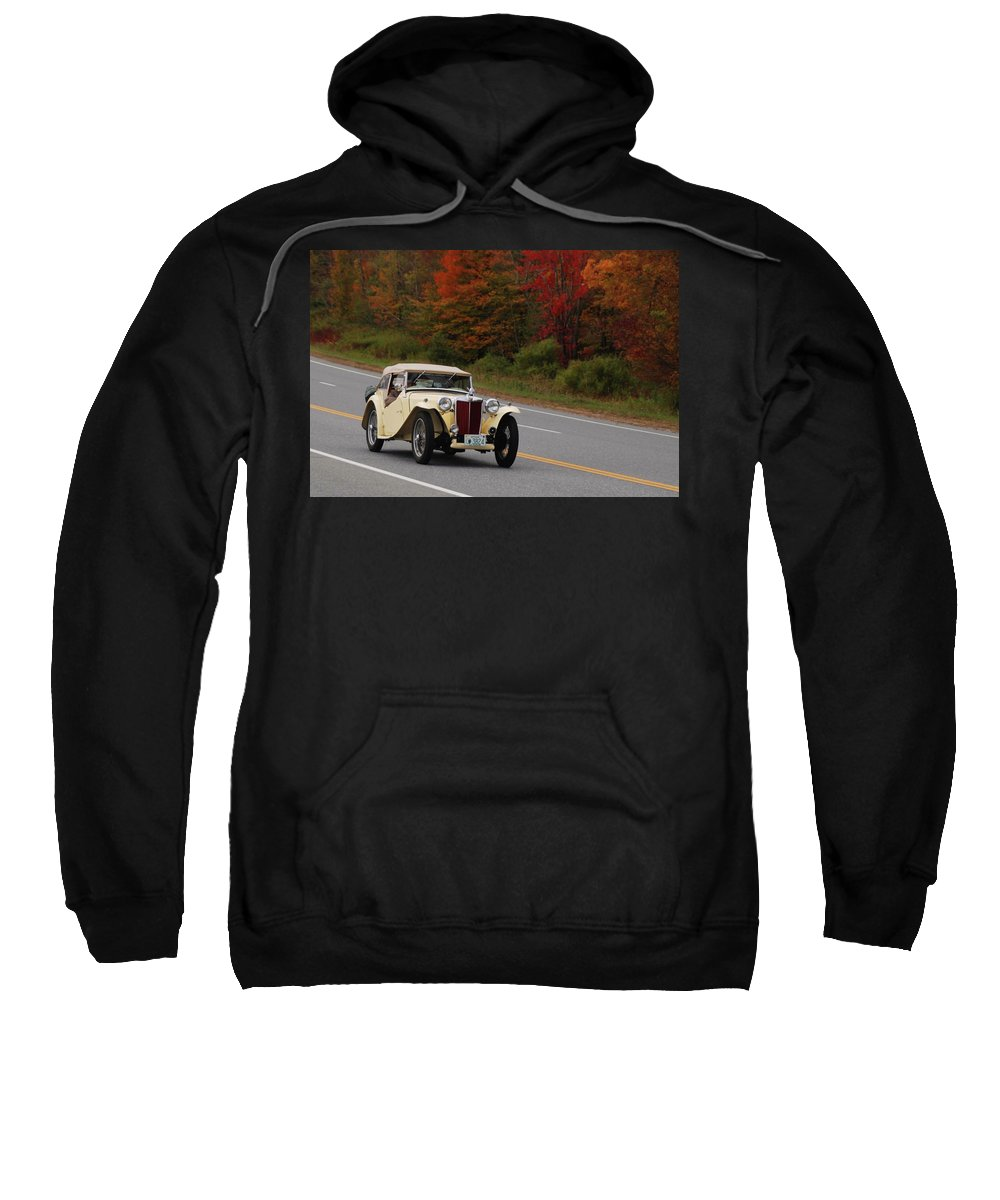 Mg Sweatshirt featuring the photograph Old Yeller 8168 by Guy Whiteley