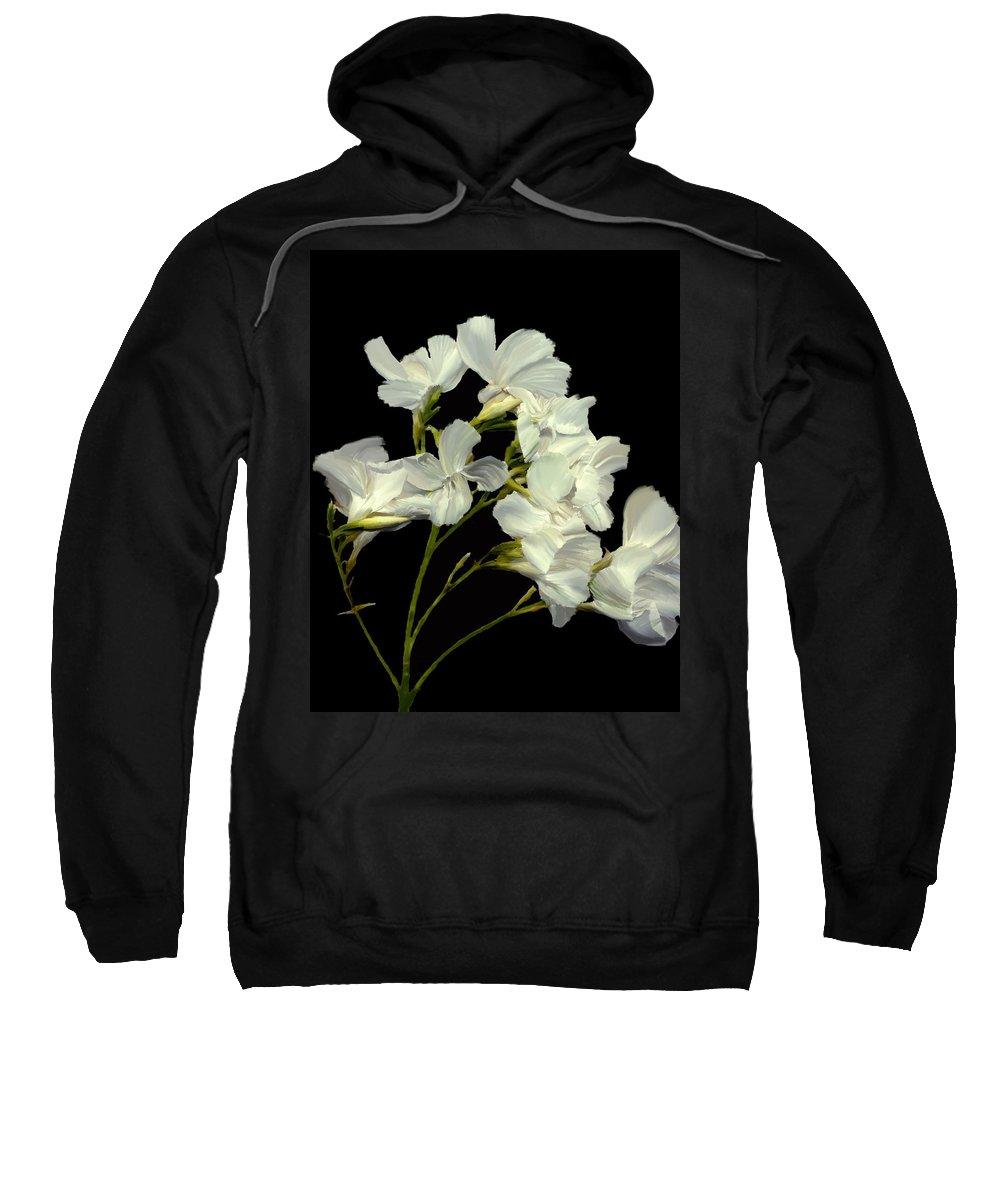 Flowers Sweatshirt featuring the photograph Oleander by Kurt Van Wagner