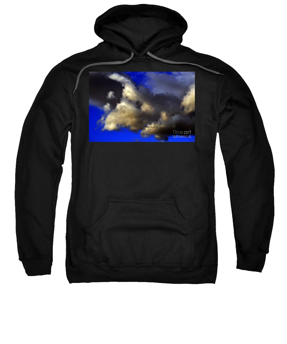 Clay Sweatshirt featuring the photograph Ominous by Clayton Bruster