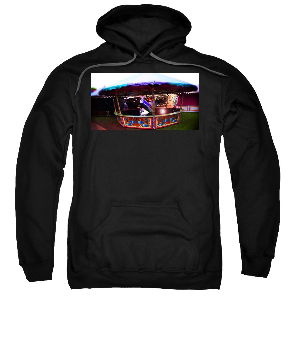 Fairground Sweatshirt featuring the photograph Or Your Money Back by Charles Stuart