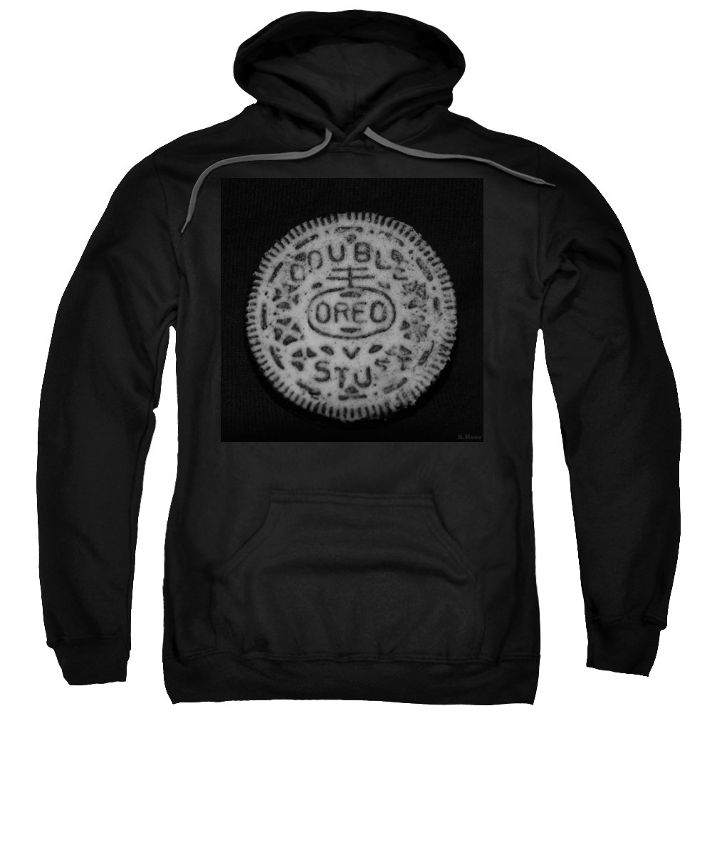 Oreo Sweatshirt featuring the photograph Oreo In Matte Finish by Rob Hans