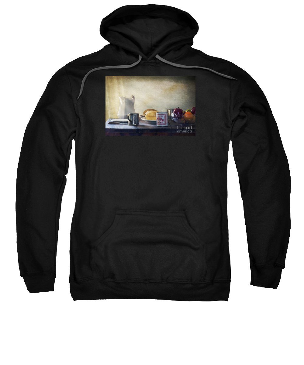 Our Daily Bread Sweatshirt featuring the photograph Our Daily Bread by Priscilla Burgers