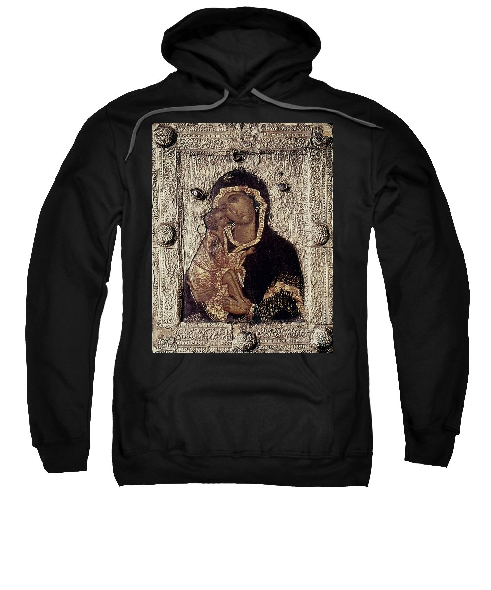 14th Century Sweatshirt featuring the photograph Our Lady Of Don by Granger