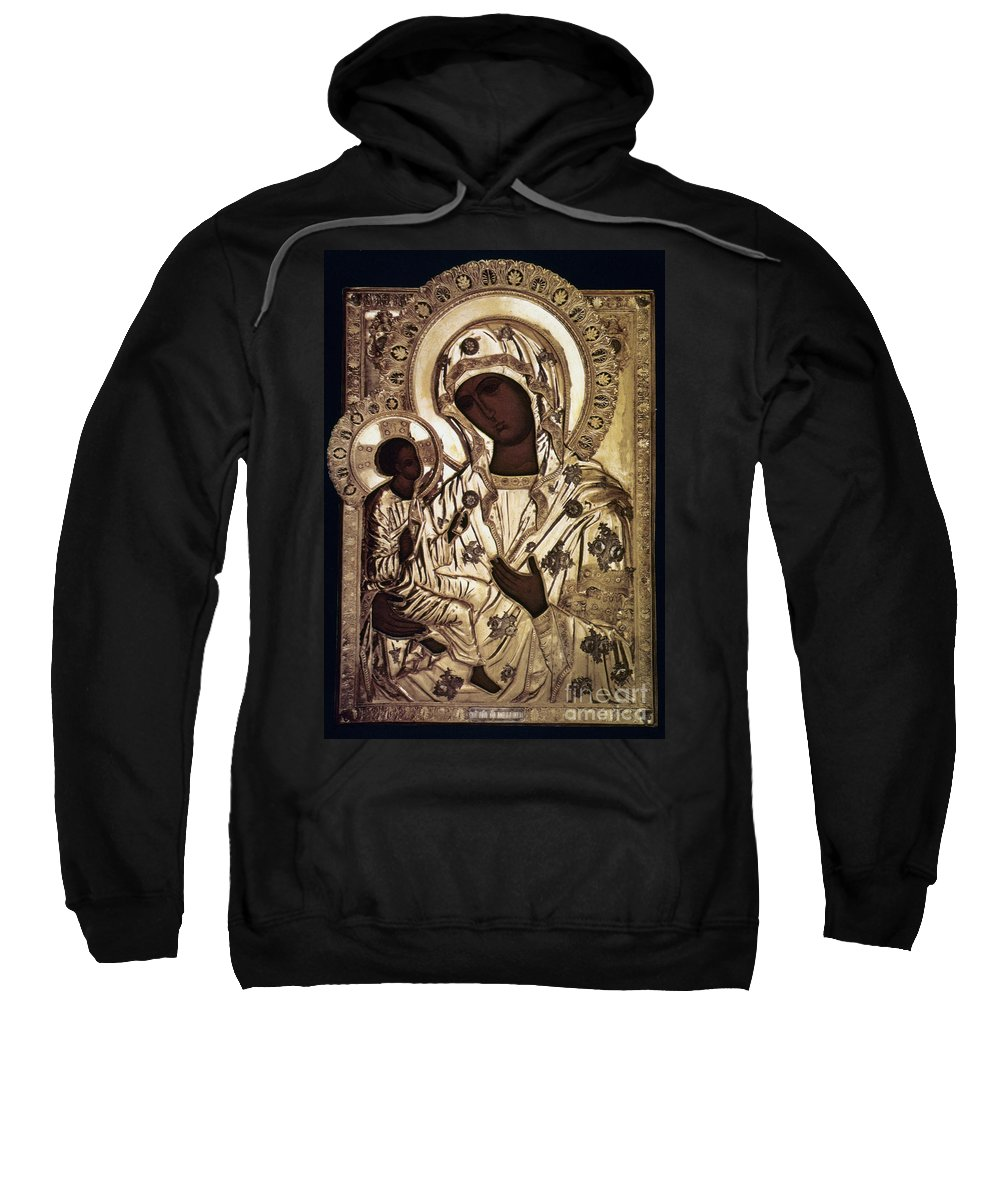 16th Century Sweatshirt featuring the photograph Our Lady Of Yevsemanisk by Granger