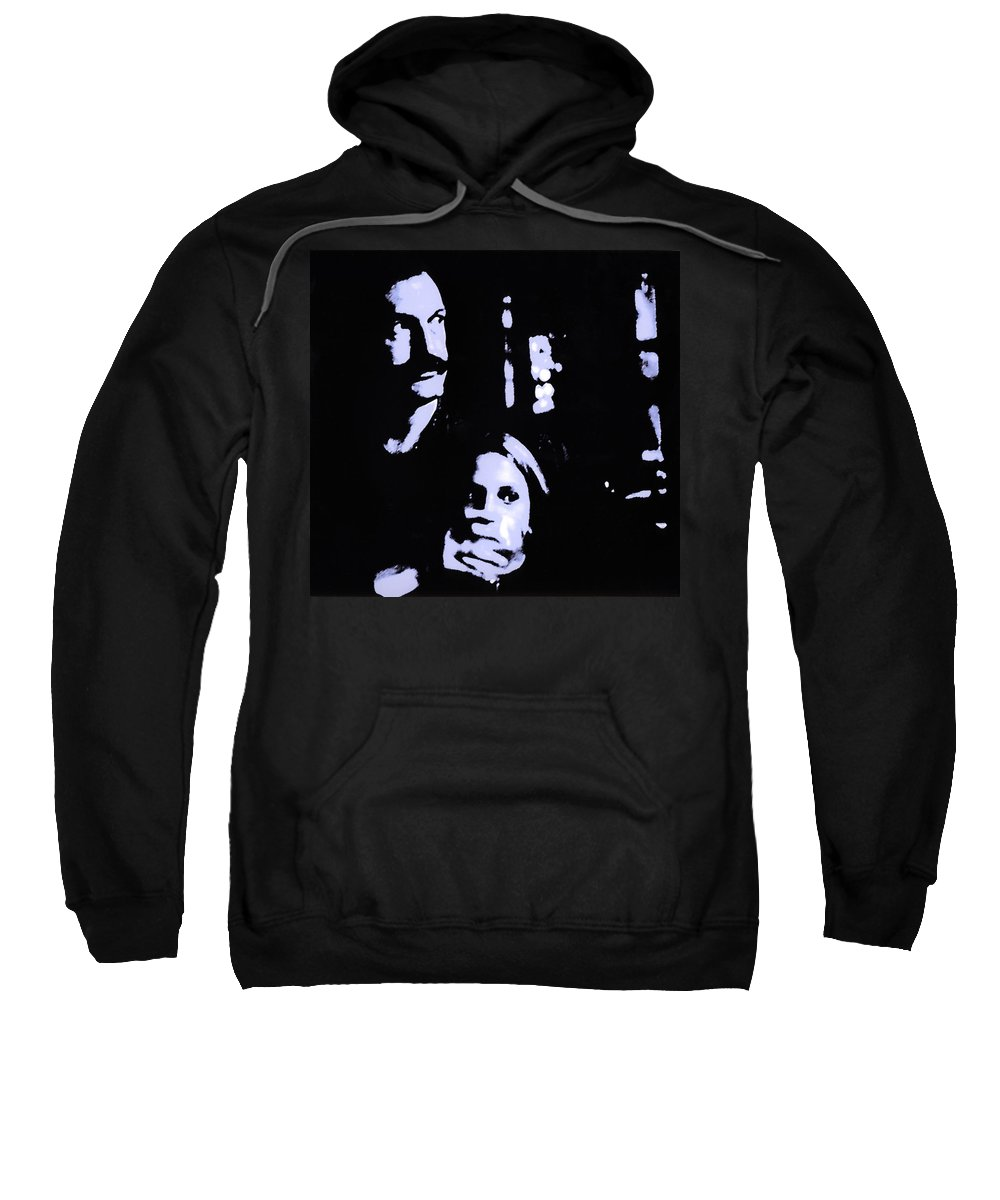 Scary Sweatshirt featuring the photograph Out Of The Dark by Madeline Ellis