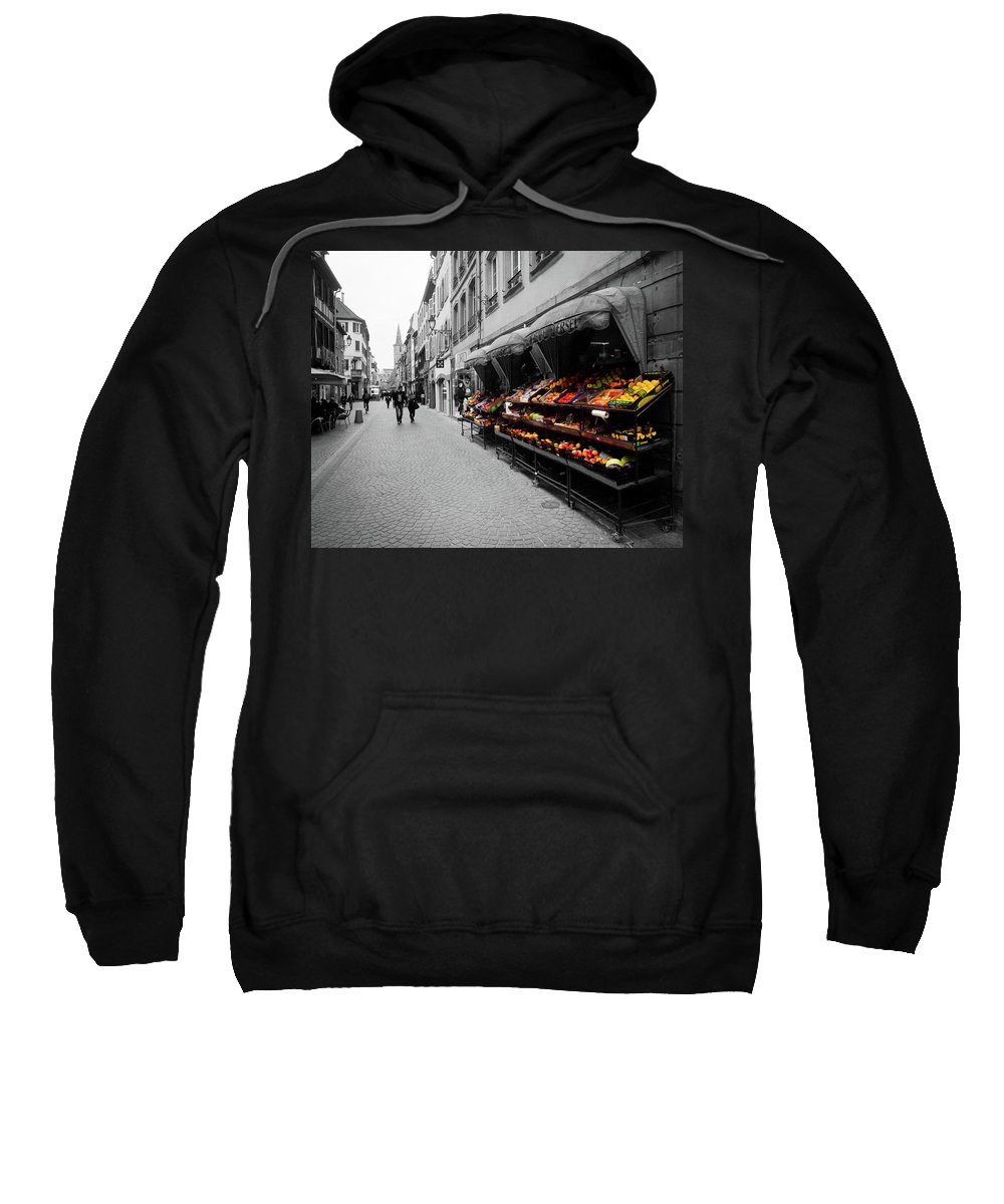 Architecture Sweatshirt featuring the photograph Outdoor Market by Steven Myers