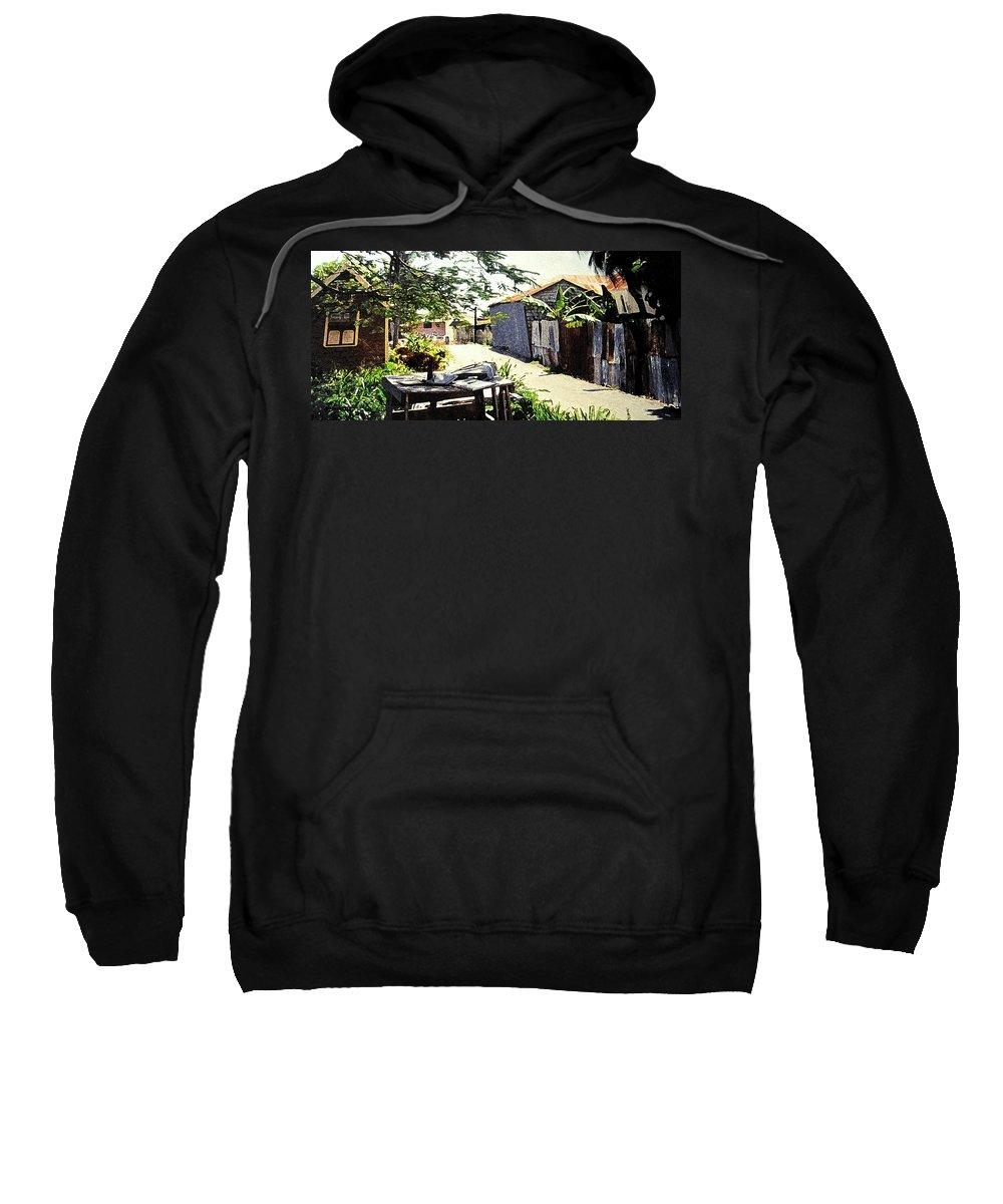 Barbados Sweatshirt featuring the photograph Overdene by Ian MacDonald