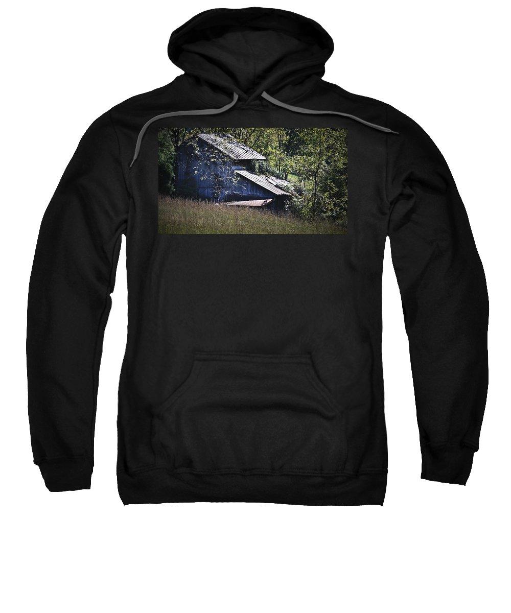 Virginia Sweatshirt featuring the photograph Overgrown by Teresa Mucha
