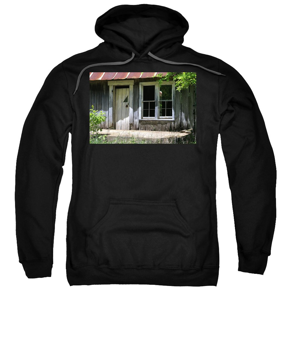Historic Buildings Sweatshirt featuring the photograph Ozark Homestead by Marty Koch