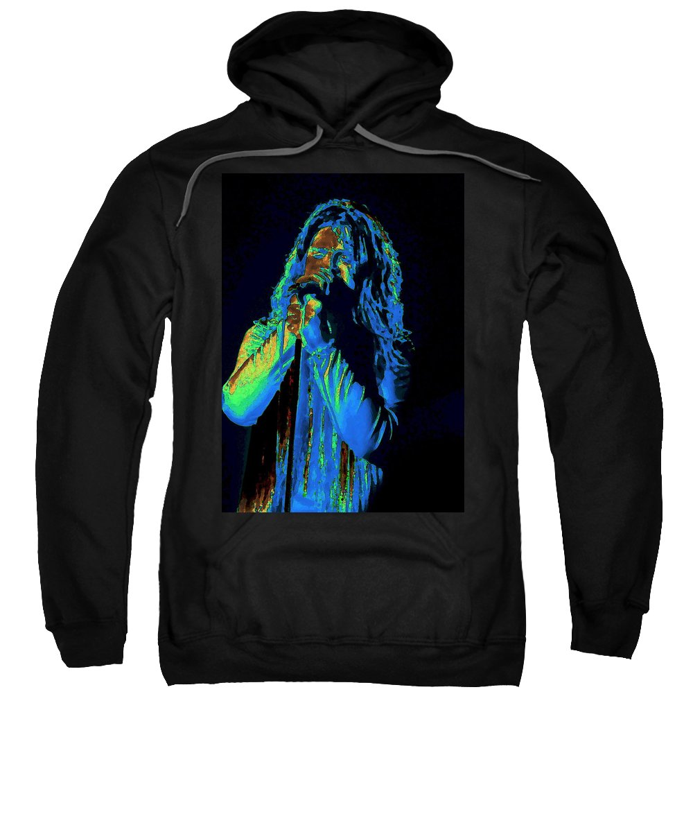 Black Sabbath Sweatshirt featuring the photograph The Cosmic Spiral Architect by Ben Upham