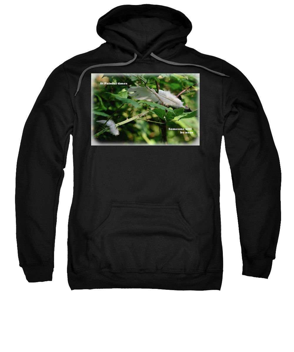 Painful Sweatshirt featuring the photograph Painful Times by Vivienne Harman