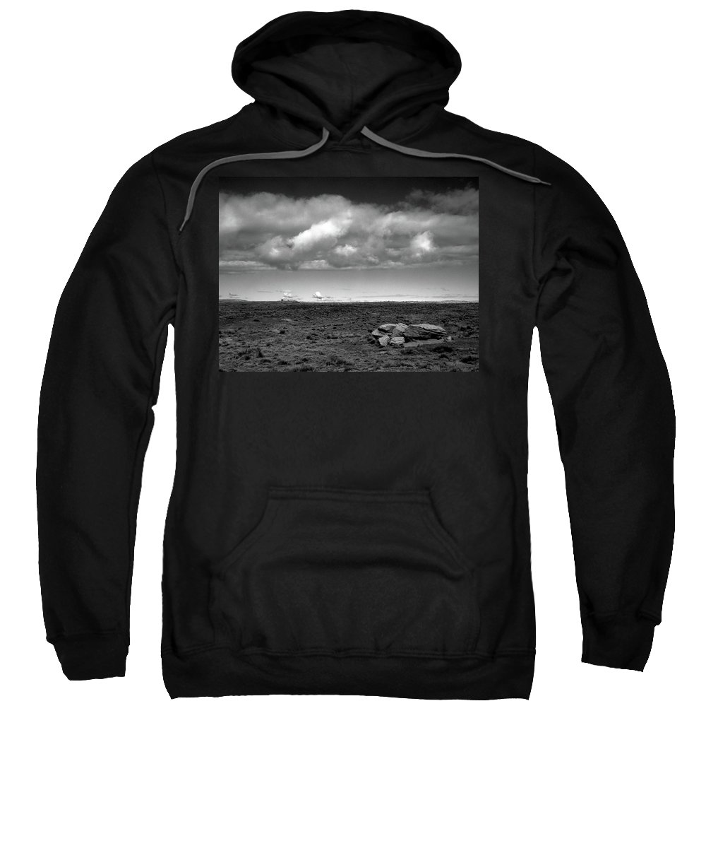 Painted Desert Sweatshirt featuring the photograph Painted Desert 1 by Ralph Muzio