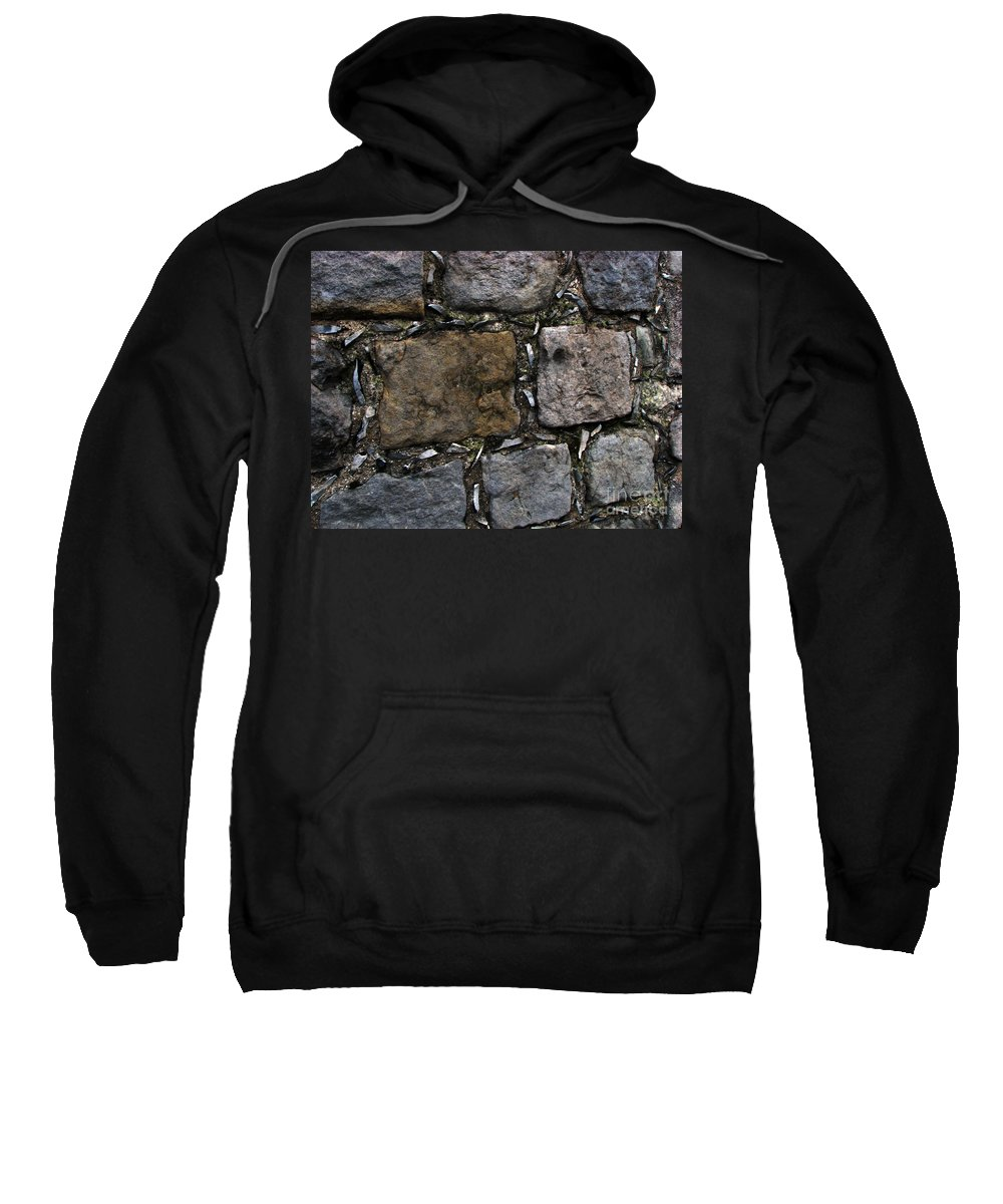 Bath Sweatshirt featuring the photograph Palace Walls by Amanda Barcon