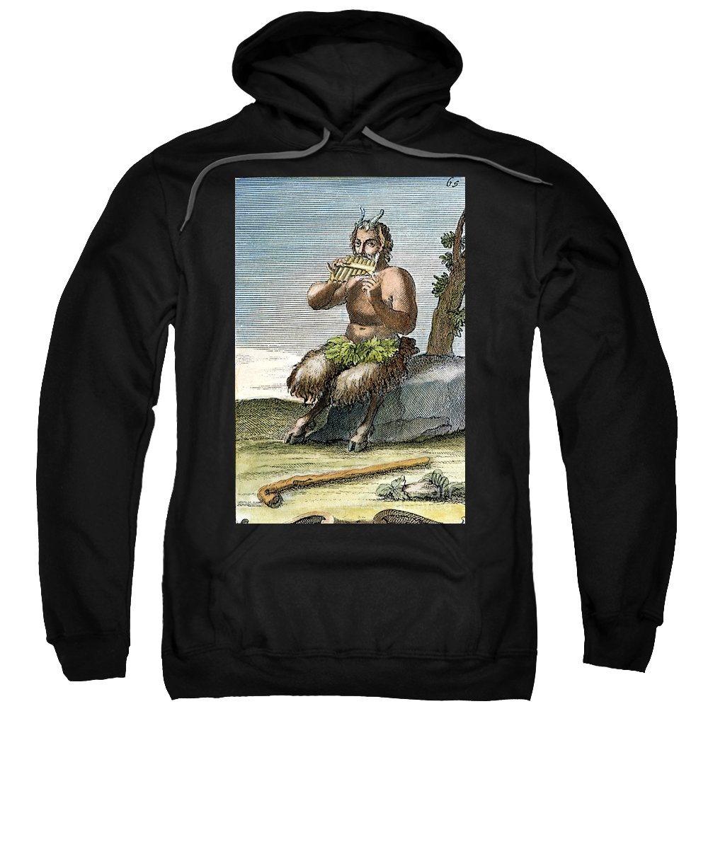 Arnold Sweatshirt featuring the photograph Pan, The Nature-god by Granger