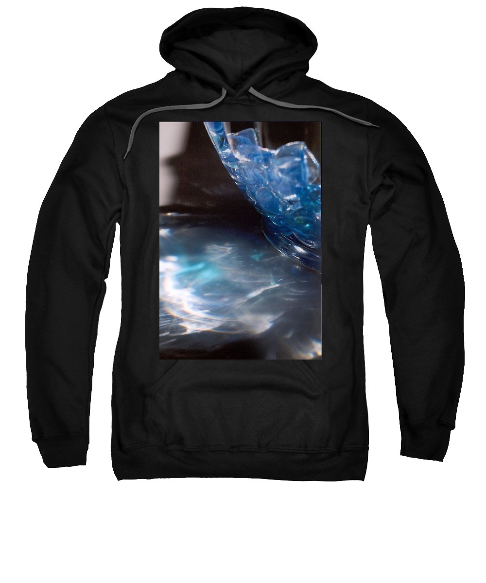 Abstract Sweatshirt featuring the photograph Panel One From Swirl by Steve Karol