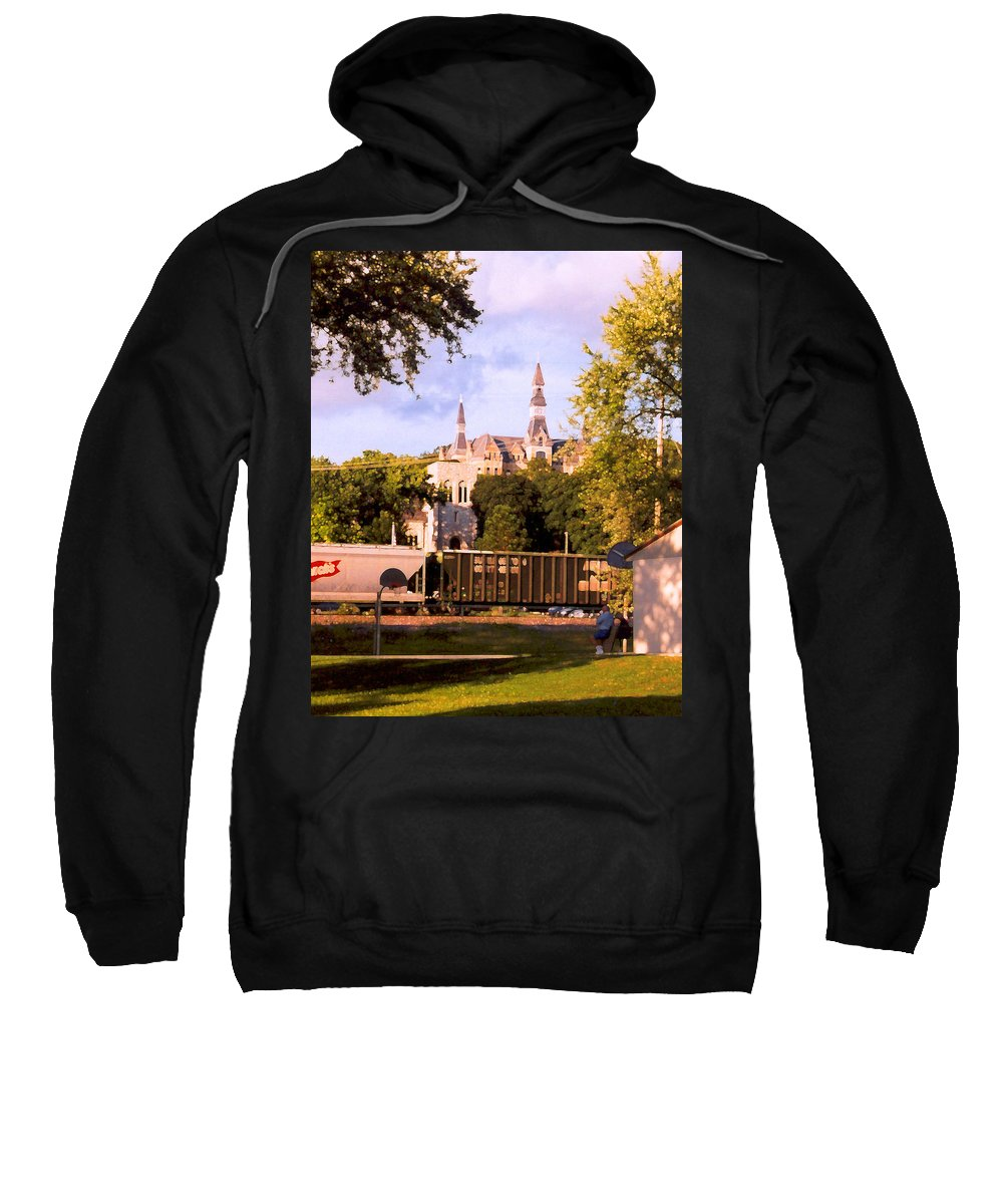 Landscape Sweatshirt featuring the photograph Park University by Steve Karol