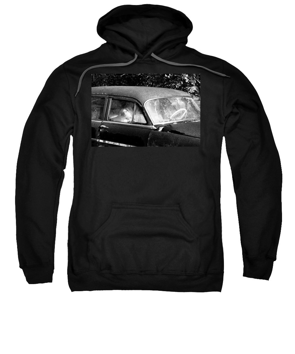 Passenger Sweatshirt featuring the photograph Passenger by David Lee Thompson