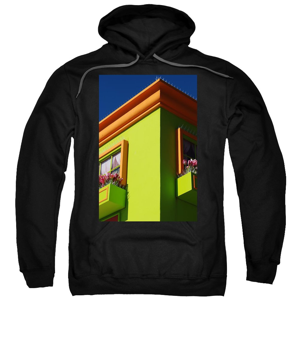 Sky Sweatshirt featuring the photograph Pastle Corners by Rob Hans