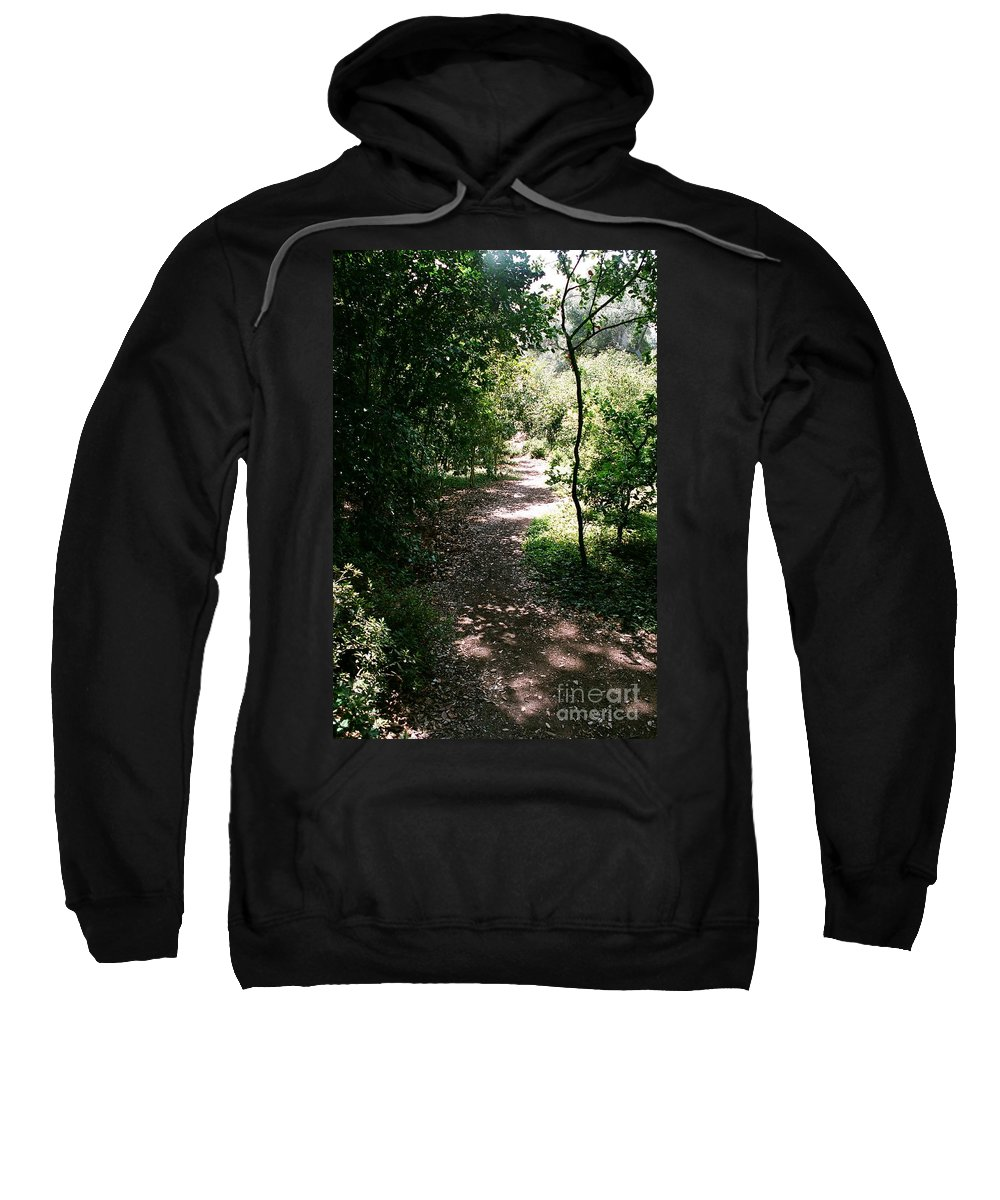 Path Sweatshirt featuring the photograph Path by Dean Triolo