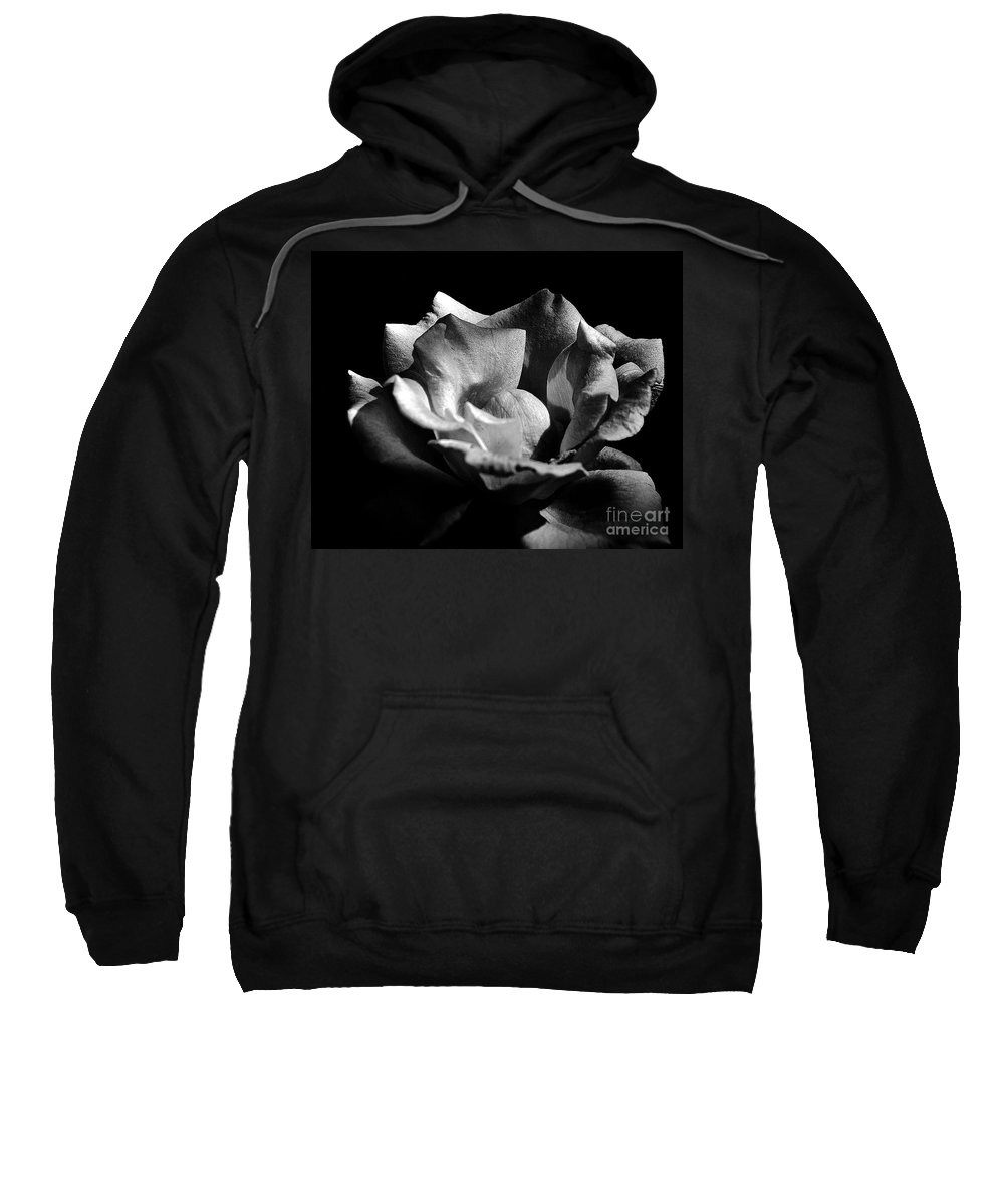 Clay Sweatshirt featuring the photograph Penetrating The Rose by Clayton Bruster