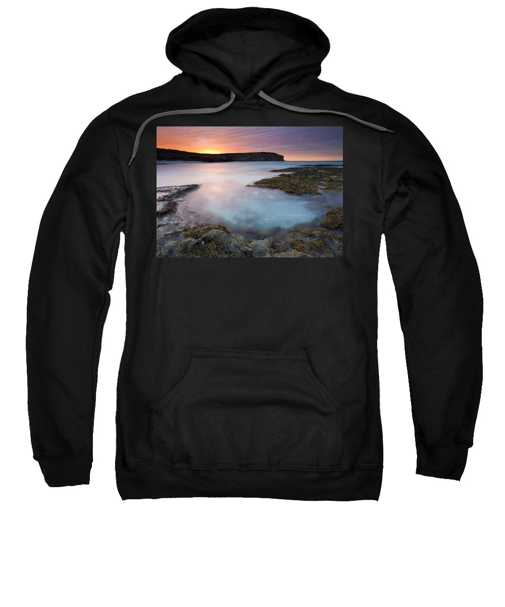 Dawn Sweatshirt featuring the photograph Pennington Dawn by Mike Dawson