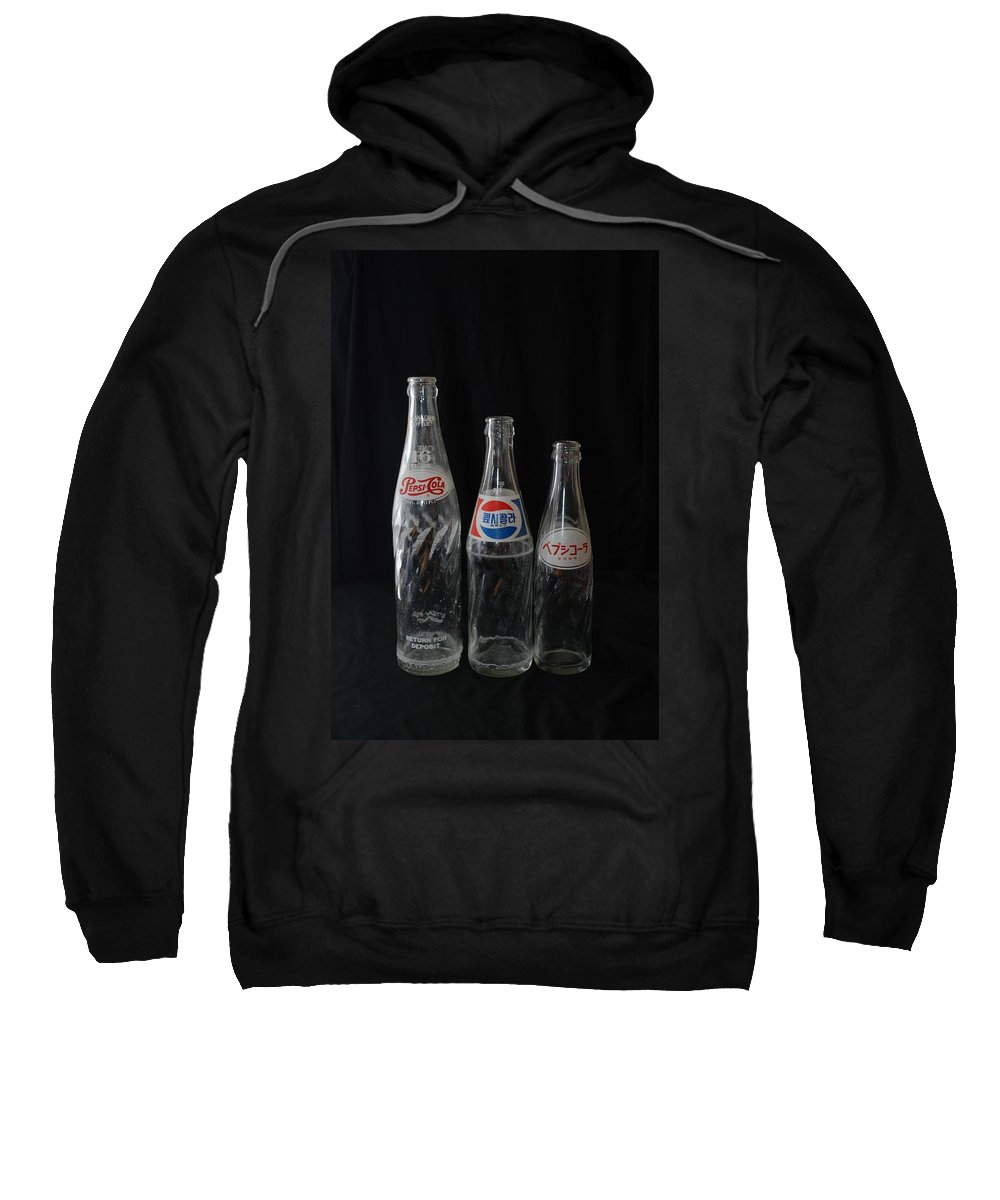Pepsi Cola Sweatshirt featuring the photograph Pepsi Bottles by Rob Hans