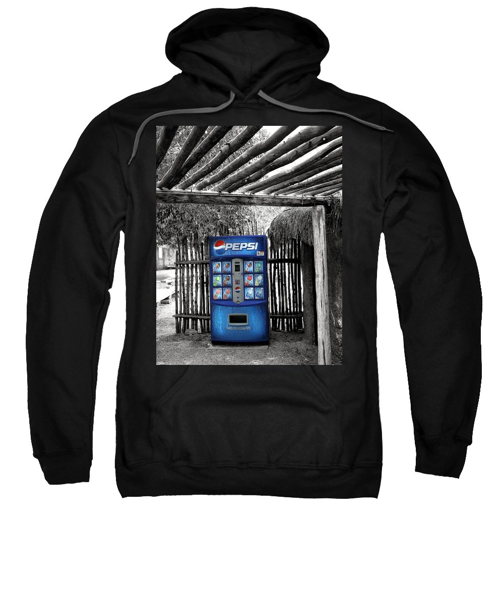 Living Desert Sweatshirt featuring the photograph Pepsi Generation Palm Springs by William Dey