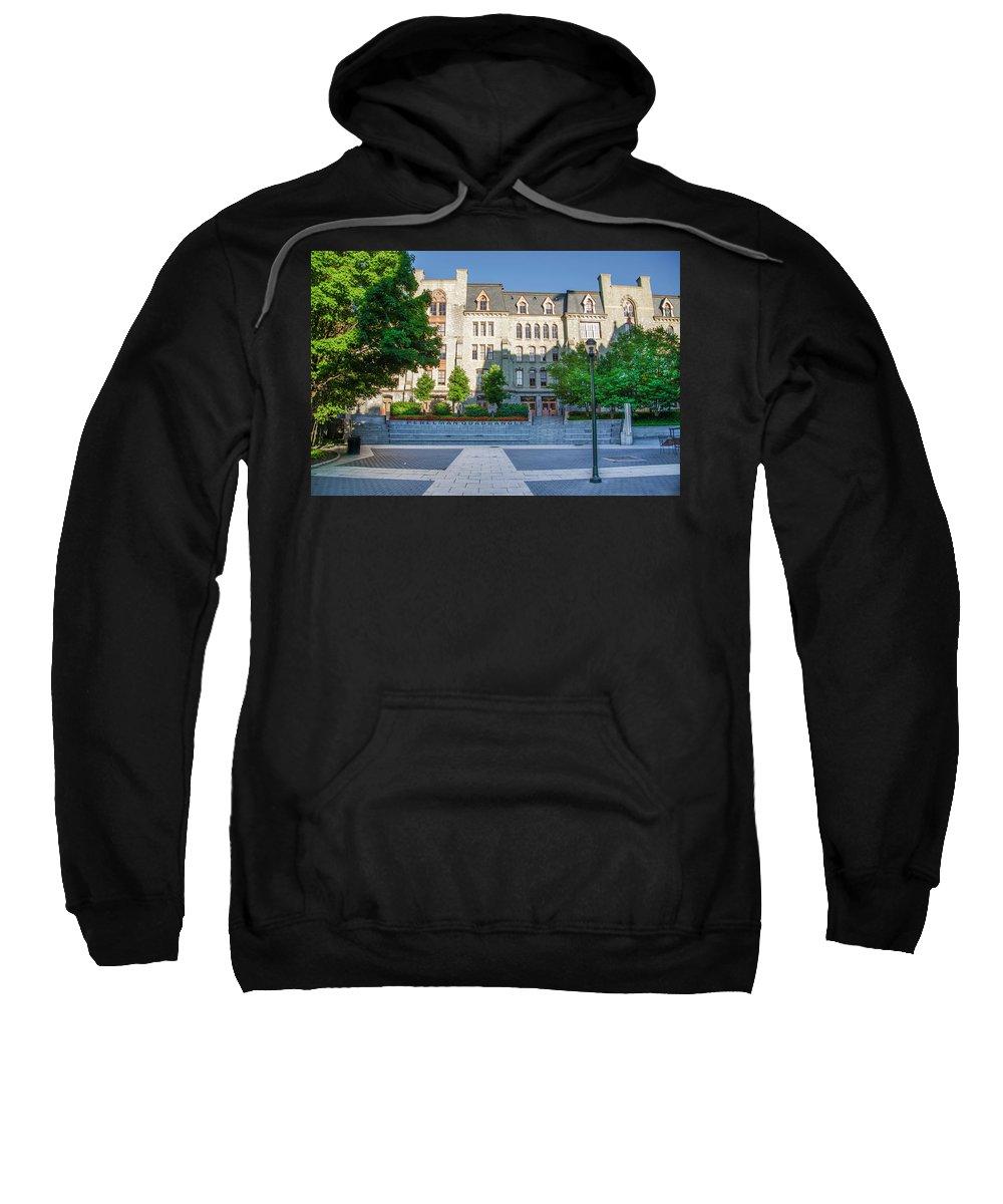 Perelman Sweatshirt featuring the photograph Perelman Quadrangle - University Of Pennsylvania by Bill Cannon