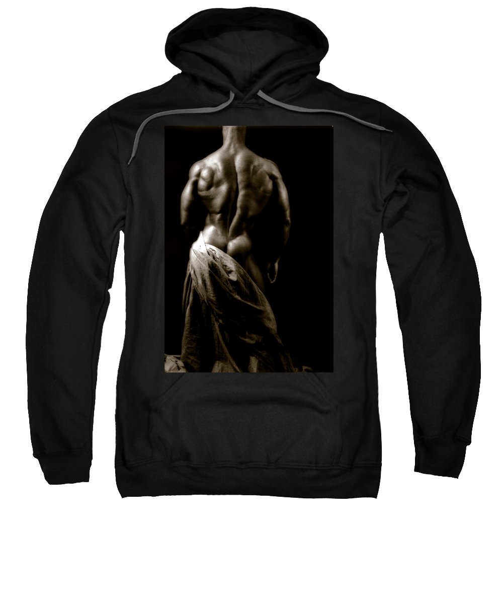 Muscle Sweatshirt featuring the photograph Photo 5 by Marcin and Dawid Witukiewicz