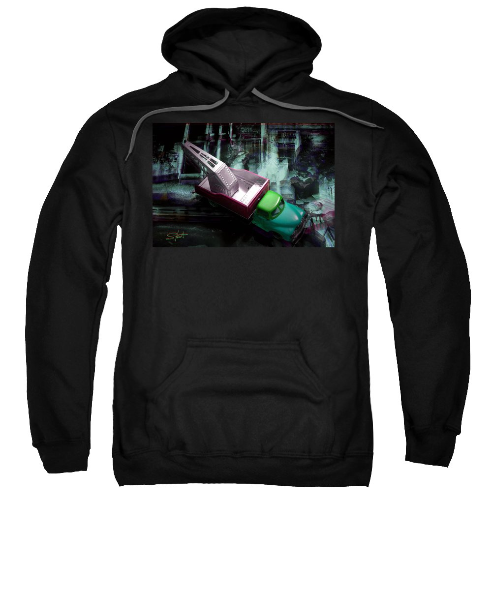 Marilyn Sweatshirt featuring the photograph Pick Up On Marilyn by Charles Stuart
