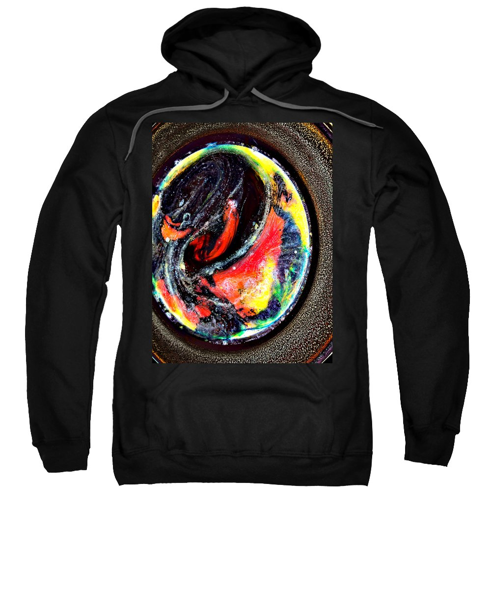 Art Sweatshirt featuring the photograph Planet In Orbit by Angelina Vick